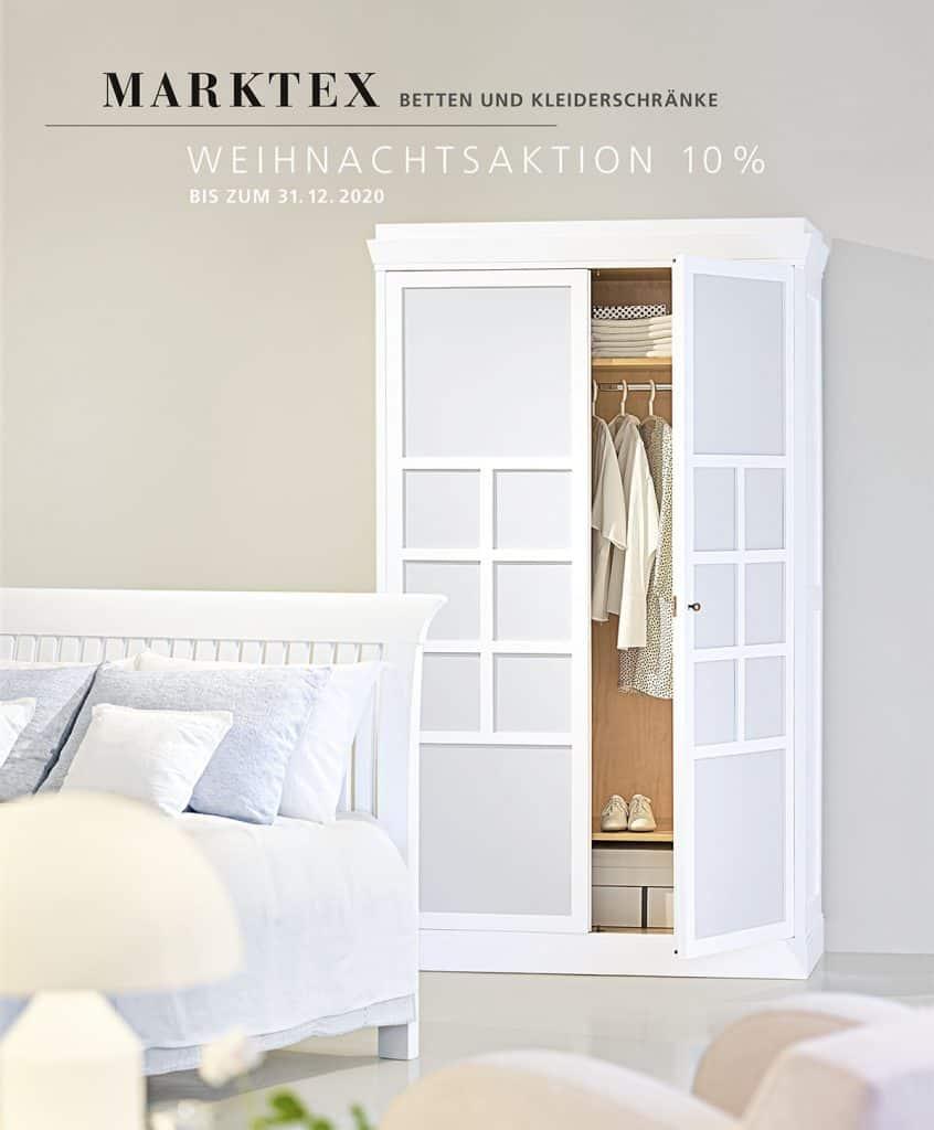 Betten und Kleiderschränke